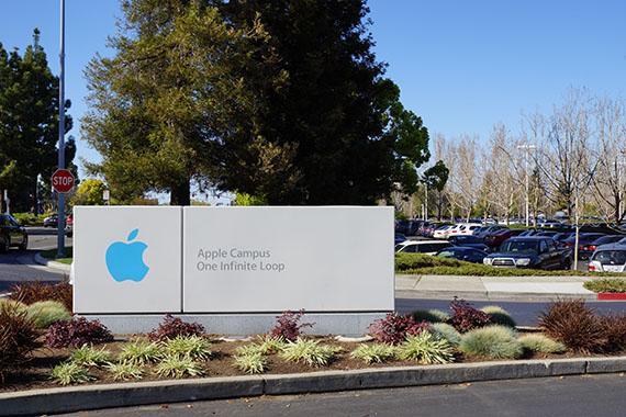 アップル本社のアップルストア Apple Campus One Infinite Loop
