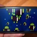 AndroidのスマートフォンのAndroidバージョンを連打すると秘密の画像が表示される