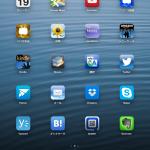 自分のiPadのiOS 6とiOS 7のホーム画面を比較してみた