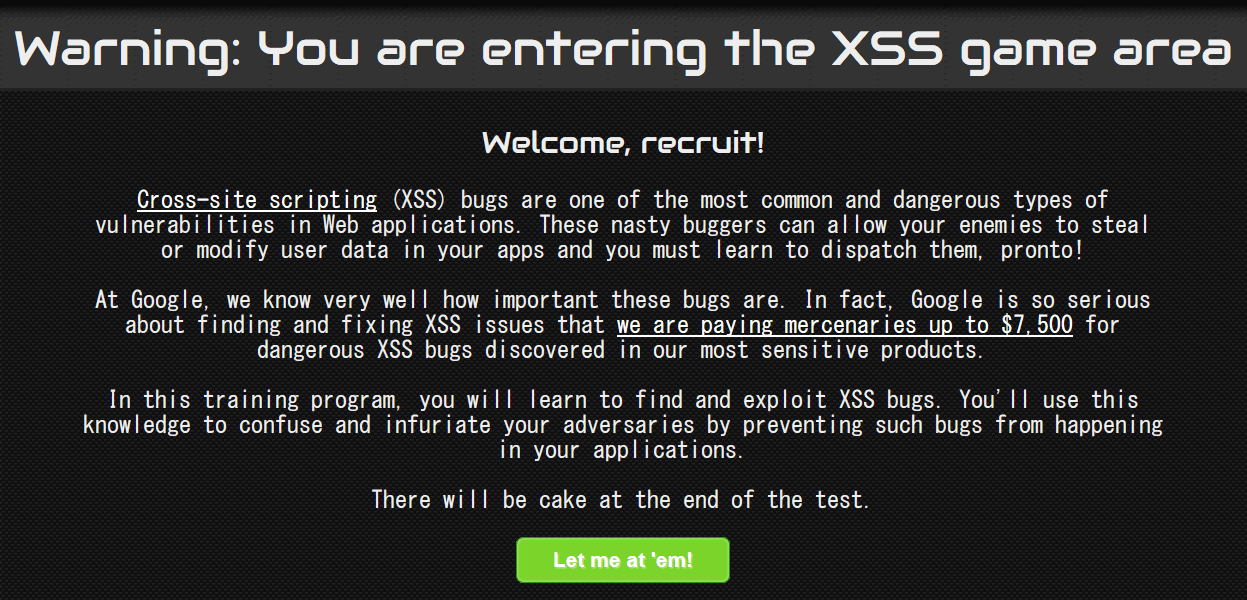 XSS gameの問題の解説と解答 Question And Answer