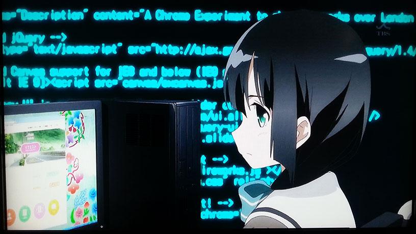 結城友奈は勇者である 第1話のソースコードの違和感の正体2