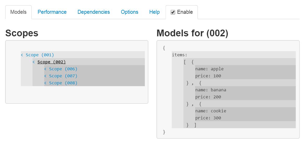 1分でわかるAngularJS開発ツールBatarangの使い方