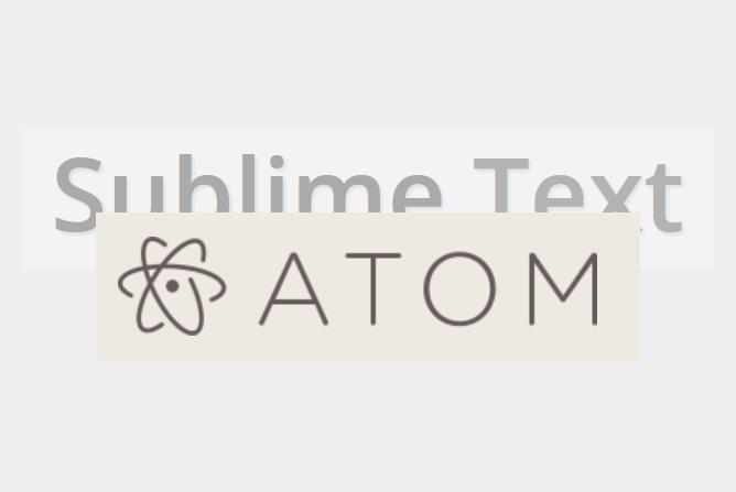 恋に落ちるエディタSublime TextはAtomにユーザーを寝取られる