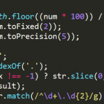 JavaScriptの小数点切り捨てにtoFixedなどを使用してはダメ