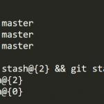 1分でわかるGitで指定した複数のstashをdropで削除する方法