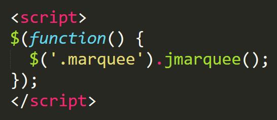 文字列が範囲を超えるとmarqueeが有効になるjQueryプラグイン