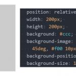CSSだけで四角形の隅に三角マークを追加する方法
