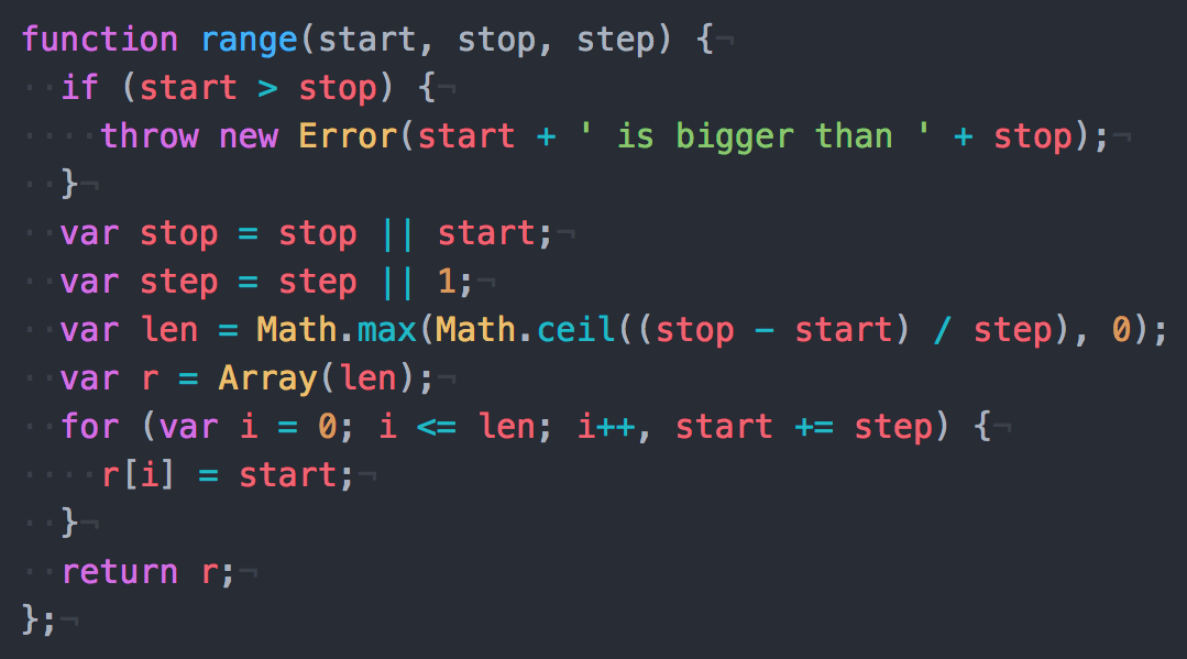 JavaScriptでRuby(to_a)やPerlの範囲演算子のような関数の作り方