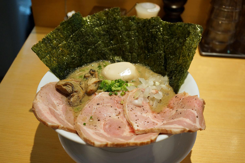麺屋まほろ芭 蒲田の人気牡蠣煮干ラーメン屋の行き方と感想