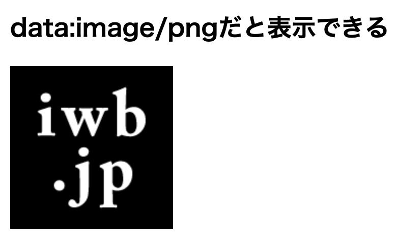 Photoshopで書き出したsvgファイルはdata:img/pngだと表示できない