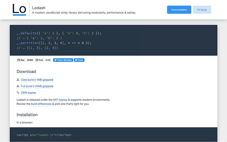1分でわかるJavaScriptのUnderscore.jsとLodashの違いと注意点