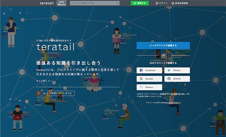 teratail(テラテイル)で低評価や特定の人物の質問を非表示にする方法