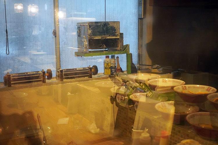 自家製麺 うろた 自家製麺を作っている部屋