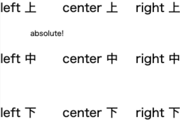 Canvasでテキストを上下左右中央揃えで配置する関数を作成