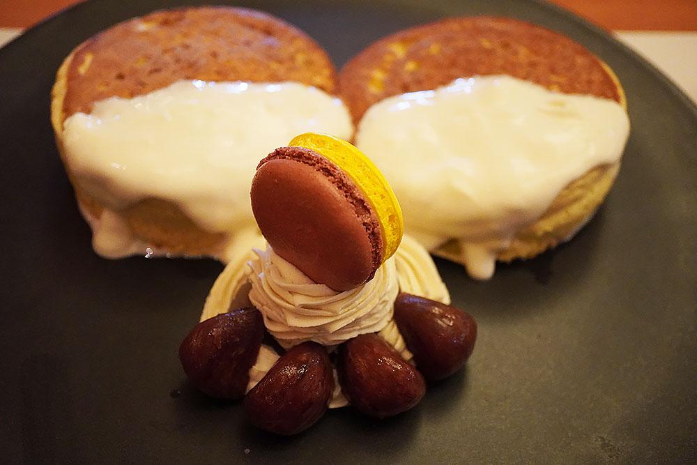 ホテルニューオータニ特製 パンケーキ(マロン)