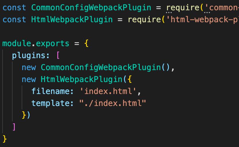 1分でできるcommon-config-webpack-pluginによるwebpack環境構築