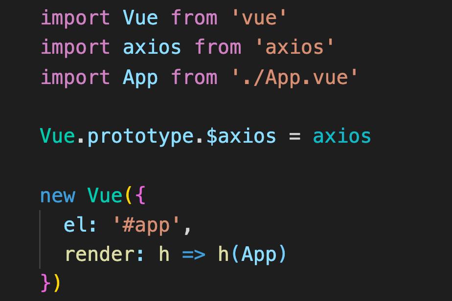 vue/cliでaxiosを使用する際によくある3つの間違った使い方