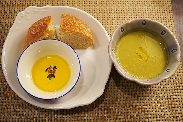 ラピーニャ湯河原 本日のパンとスープ