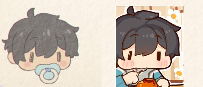 左:プリコネ公式 右:二次創作