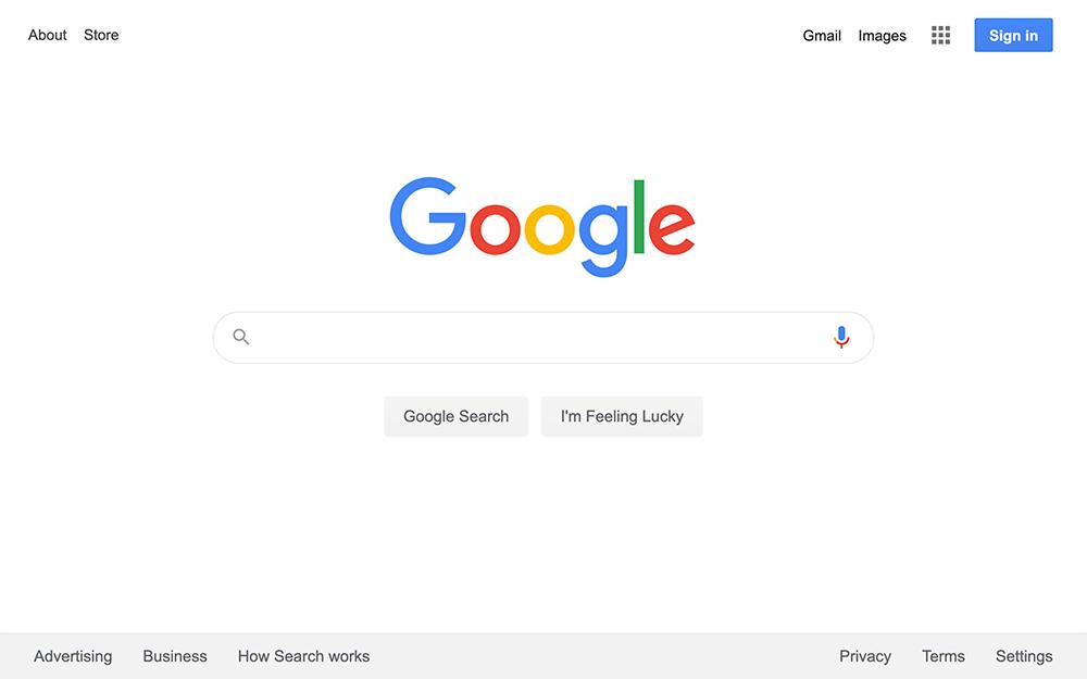 Googleで米国英語サイトを検索するには?gl=us&hl=enをURLに付ける