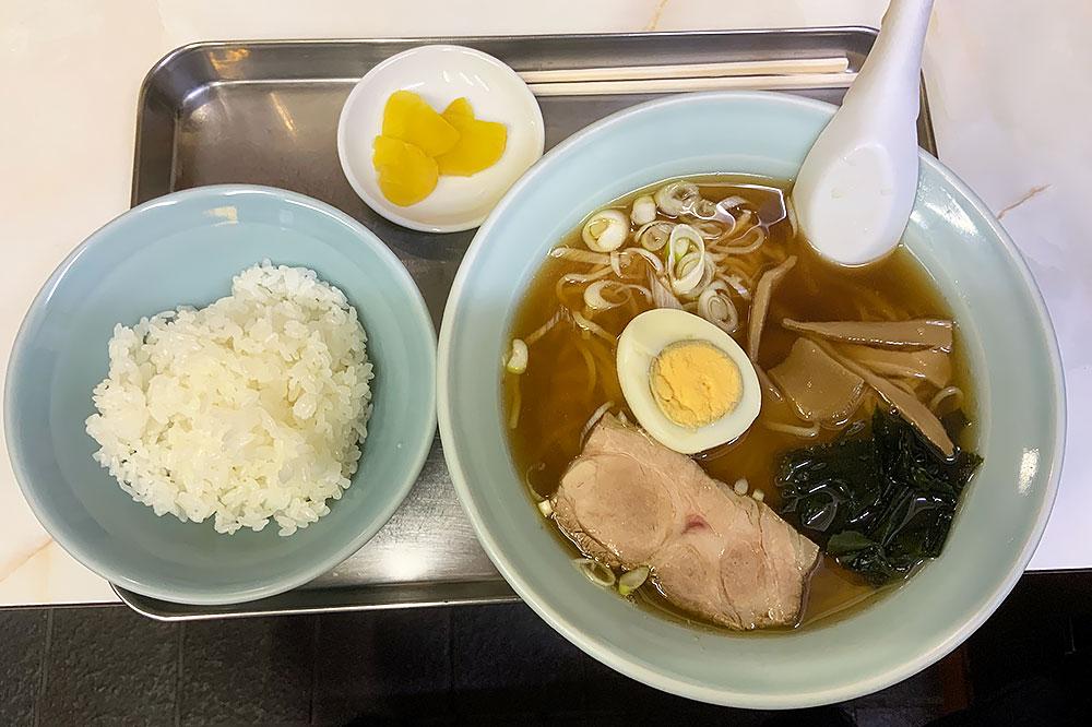 松葉 トキワ荘ラーメンライス