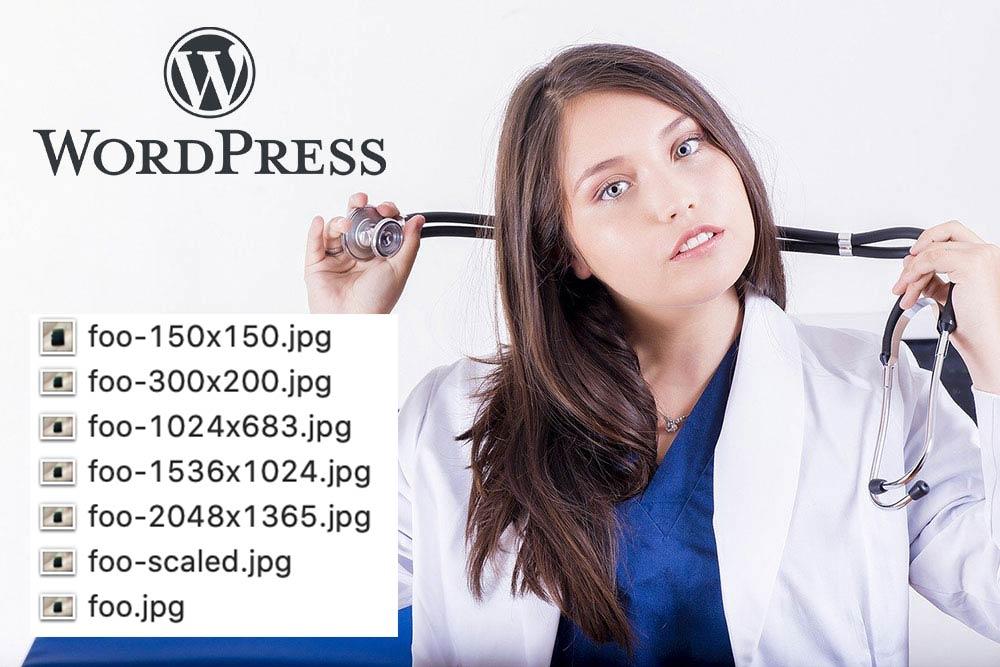 WordPress画像アップロード時の自動生成を停止する方法