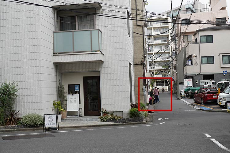 人類みな麺類 東京本店 店舗前行列