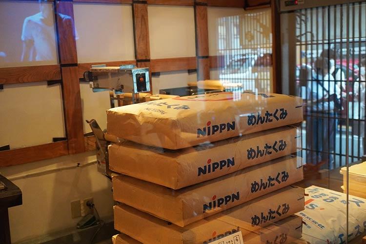 人類みな麺類 東京本店 製麺室