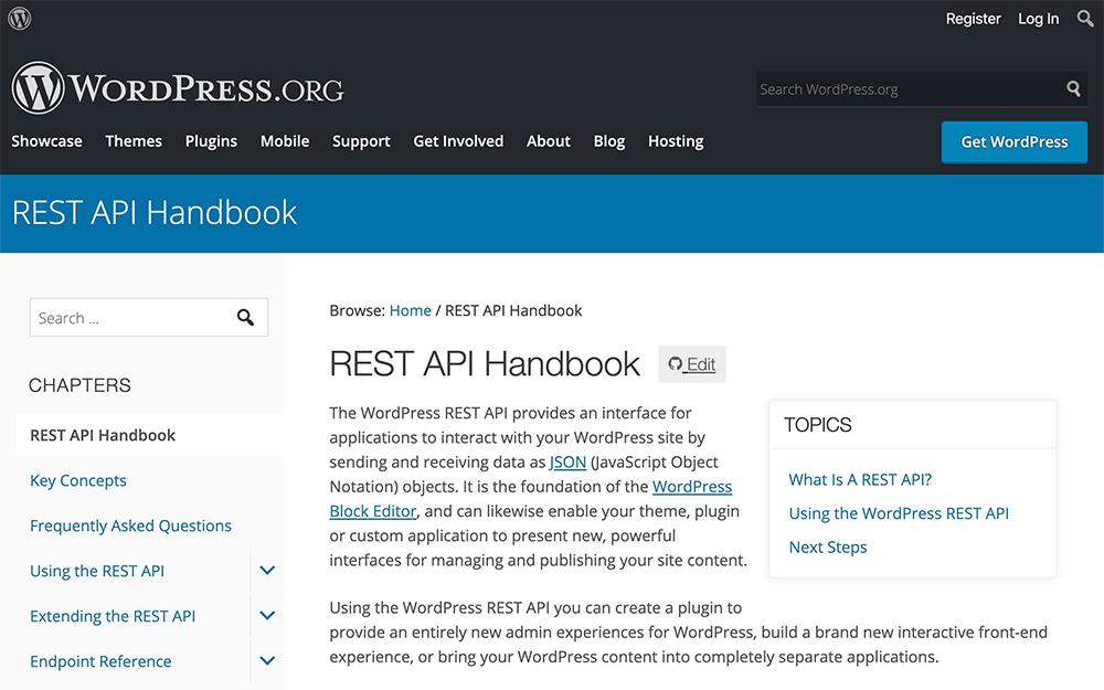 WordPressでREST APIのJSONを使用するならcontextは必須